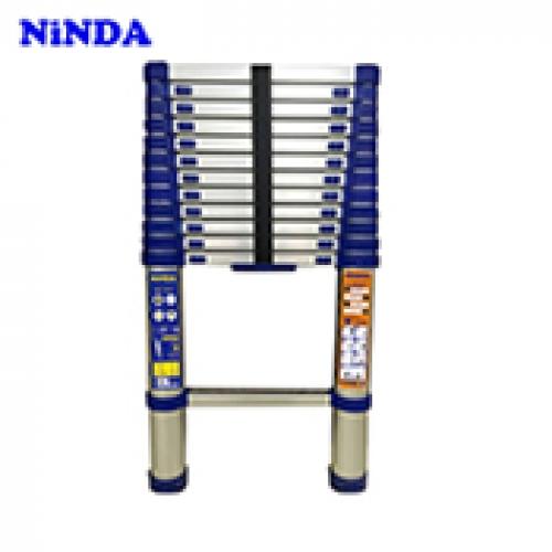 Thang nhôm rút đơn Ninda NK-32 màu xanh