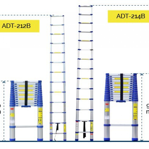 Thang nhôm rút đơn Advindeq ADT212B