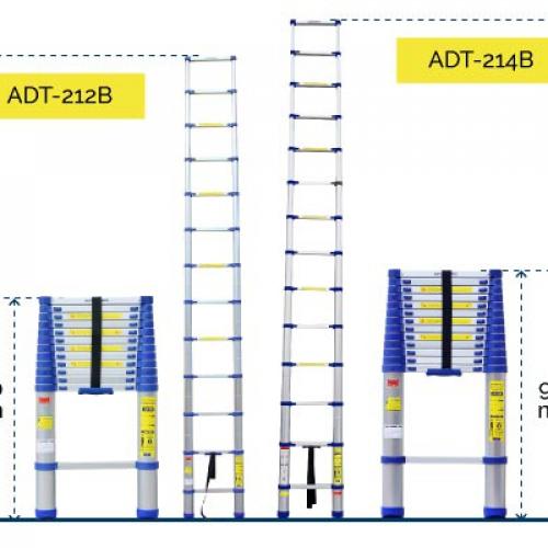 Thang nhôm rút đơn Advindeq ADT214B