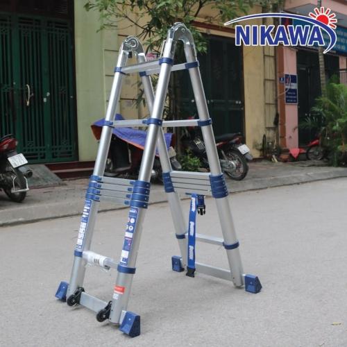 THANG NHÔM RÚT ĐÔI NIKAWA NK-38AI PRI