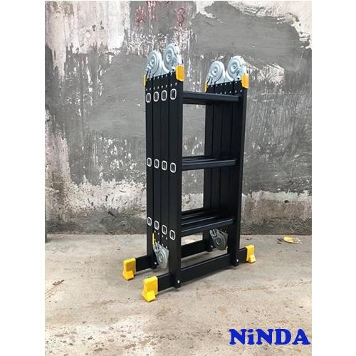 Thang nhôm gấp NiNDA ND-404B