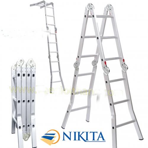 Thang nhôm chữ M Nikita TGA47