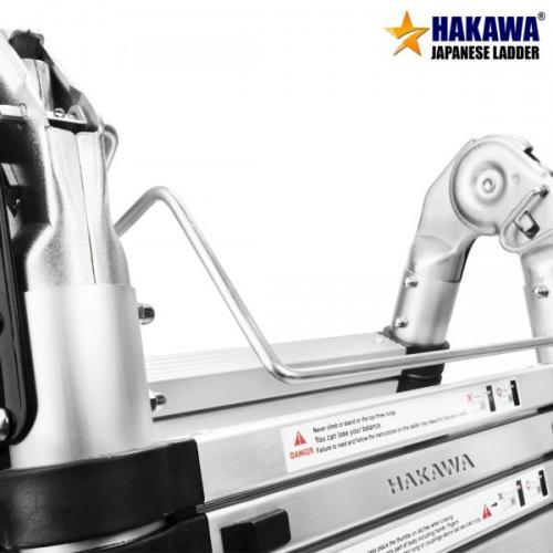 Thang Nhôm Rút Đôi Chữ A HAKAWA HK-256