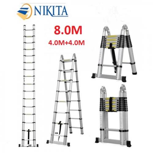 thang nhôm rút đôi Nikita AI80 – 8m