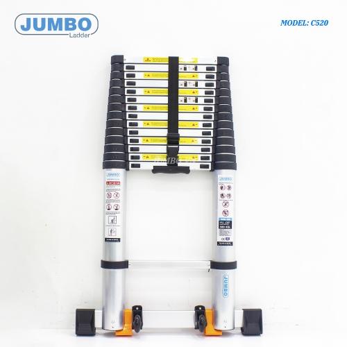 Thang rút nhôm cao cấp Jumbo C520