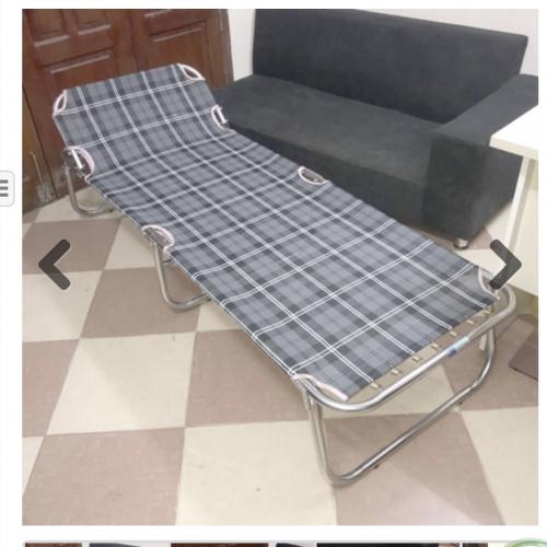Giường Gấp Khung Inox Vải Lưới QP-232