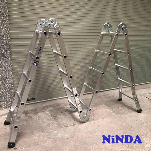 Thang nhôm gấp chữ M Ninda ND-405